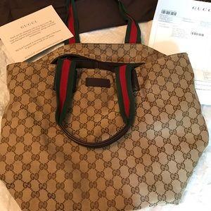 Authentic Gucci Tote